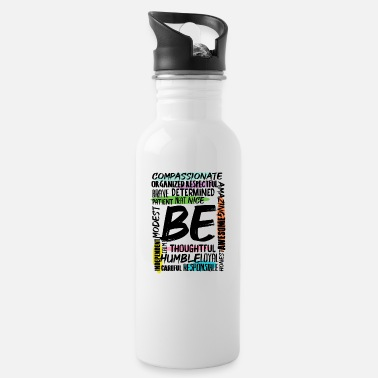 Skeptic Motivational Positive Thinker Mindset Cool Gift - Water Bottle