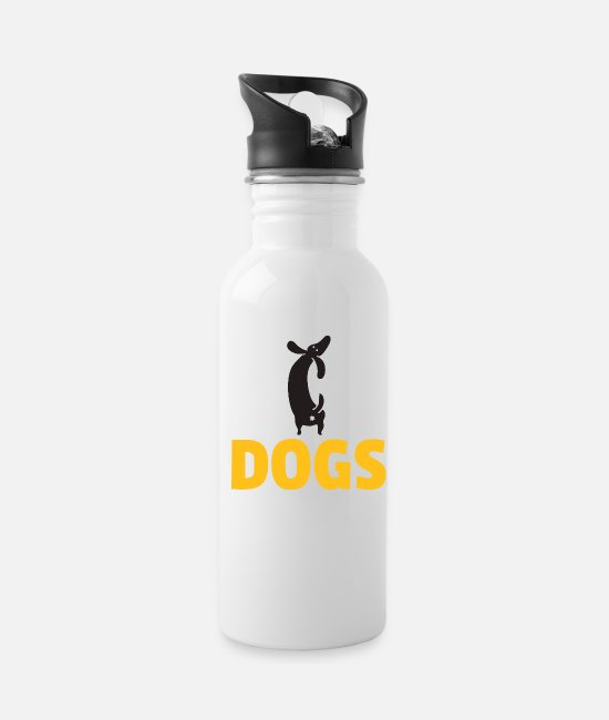 Obedience Mugs & Cups - Dogs dubbing - Water Bottle white