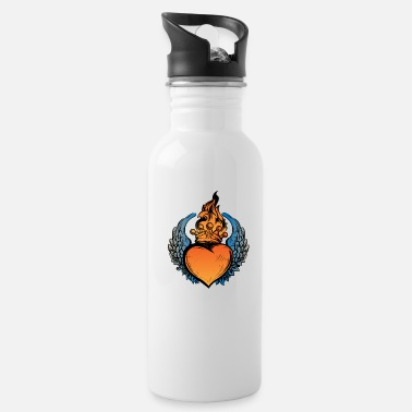 Heart With Wings Heart With wings - Water Bottle