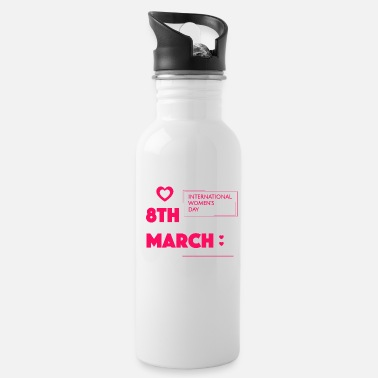 Birth Name Birth in march - Water Bottle