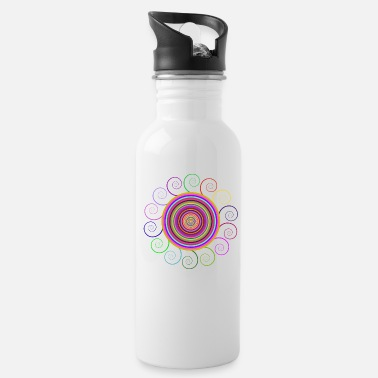 Circular Circular rainbow - Water Bottle