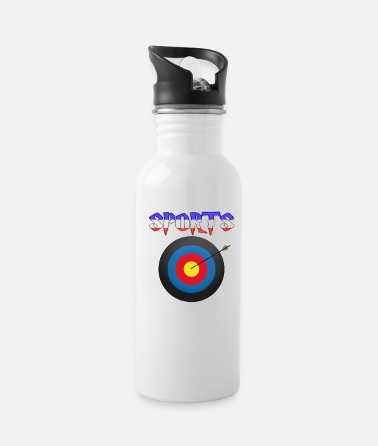Sportscar Mugs & Drinkware - Sports - Water Bottle white