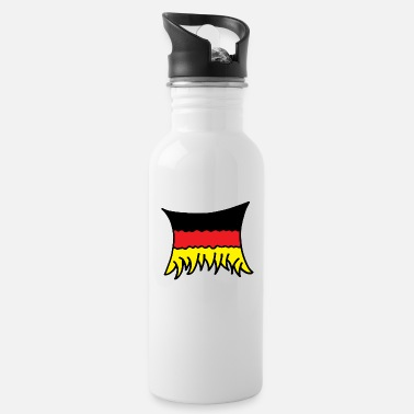 Flag Of Germany Germany Flag - Water Bottle