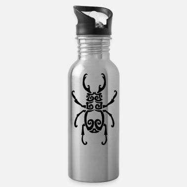 Capricorn Black insect - Water Bottle
