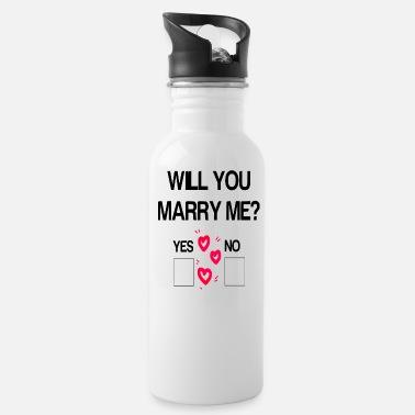 Shop Proposal Drinking Bottles online   Spreadshirt
