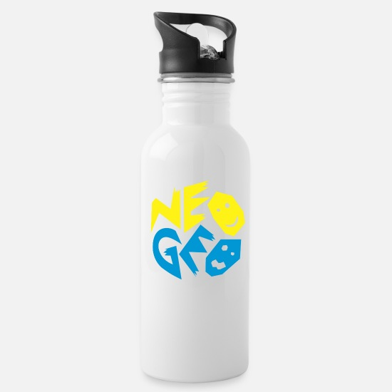 Geo Mugs & Drinkware - Neo geo - Water Bottle white
