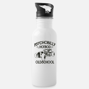 Psychobilly Psychobilly Hotrod Oldschool - Water Bottle