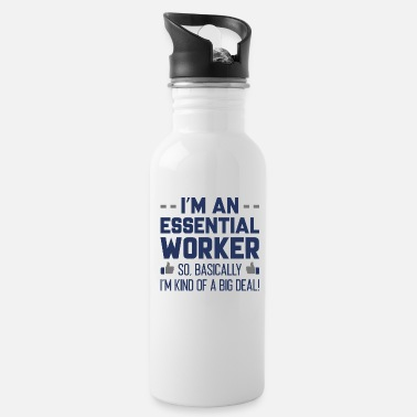 Humor Essential Big Deal - Water Bottle