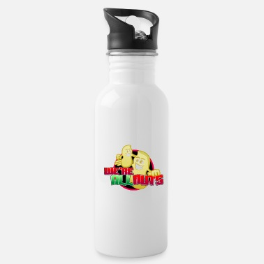 Mascot We Are All Nuts Cartoon Characters - Water Bottle
