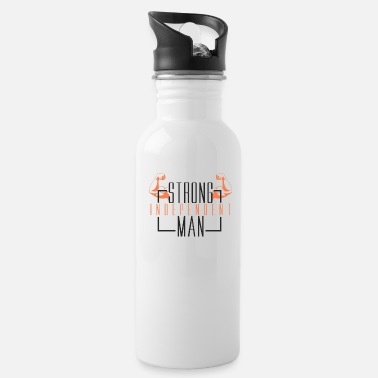 Strong Man Strong Man - Water Bottle