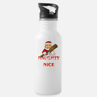 Naughty Naughty Or Nice? - Water Bottle
