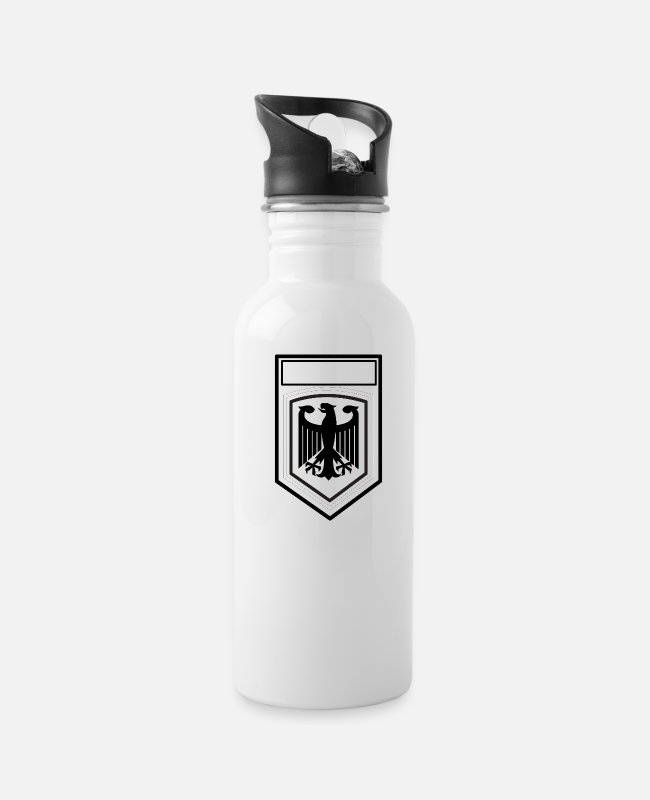 German Eagle Mugs & Cups - Armed Forces (German eagle) - Water Bottle white
