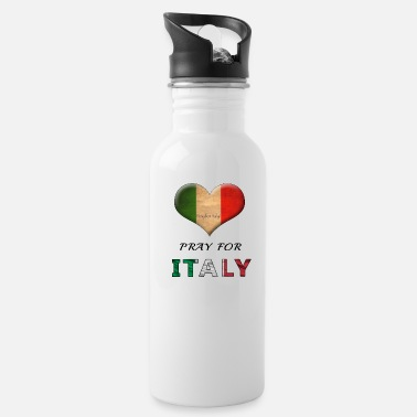Italy PRAY FOR ITALY - Water Bottle