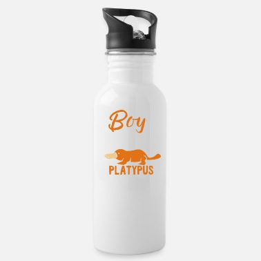 Just Just Boy Girl Who Loves Platypus - Water Bottle