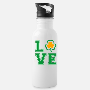 Saint Patrick Love Saint Patrick Day - Water Bottle