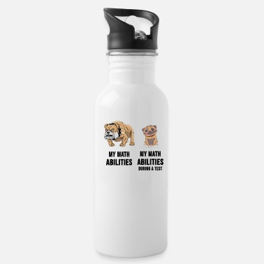 Math Math Mathematics Mathematician Test Gift - Water Bottle