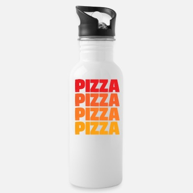 Pizza Pizza Pizza Pizza Pizza - Water Bottle