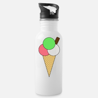 Ice Cream Cone Ice Cream cone - Water Bottle