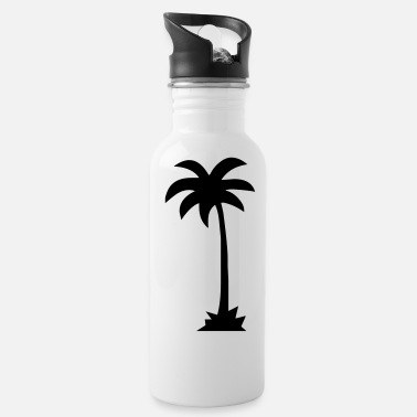 Palm Trees palm - palm tree - Water Bottle