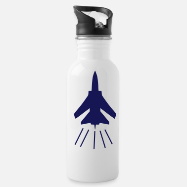 Fighter fighter jet - Water Bottle