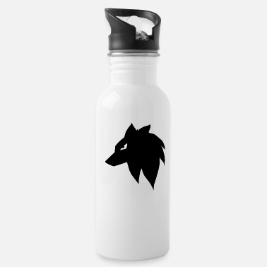 Anime Manga Anime Wolf Dog - Water Bottle