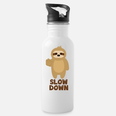 SLOTH SLOW Sloth - Water Bottle