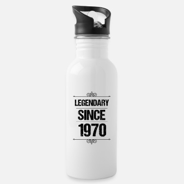 Since Legendary Since 1970 - Awesome since - Water Bottle