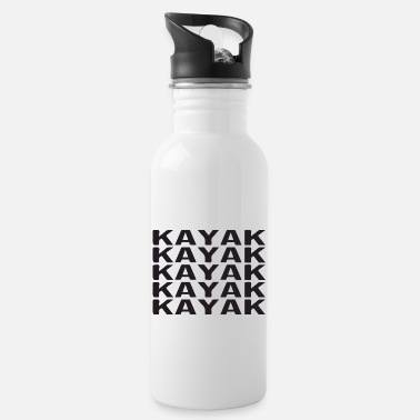 Kayak kayak kayak kayak - Water Bottle