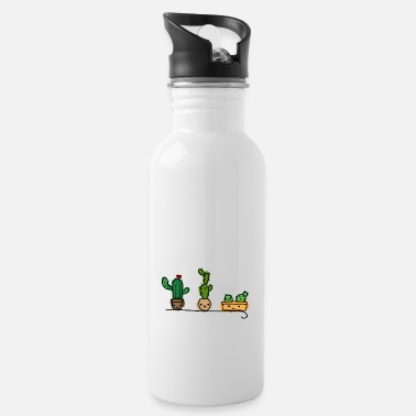 cute plants - Water Bottle