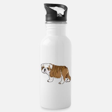 Bulldog Puppy Bulldog Puppy - Water Bottle