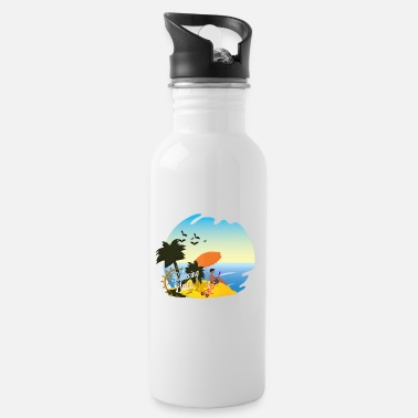 5 Seconds Of Summer relaxing place - Water Bottle