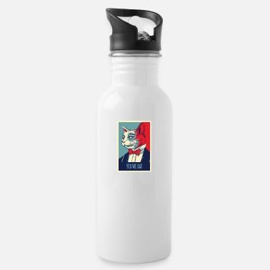 Cat Love Cat Cats Pet Cute Love For Animals Animals Animal - Water Bottle