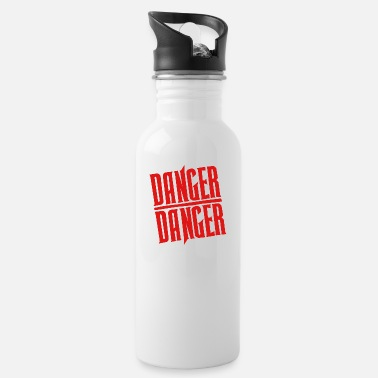 Dangerous Red Danger Danger - Water Bottle