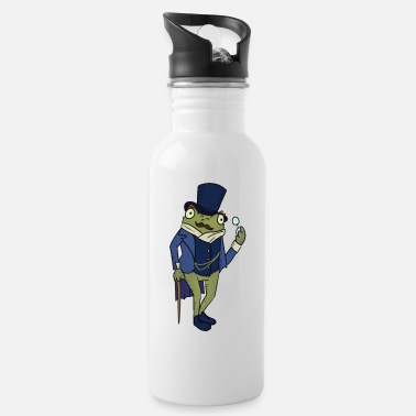 Dapper The Dapper Frog Meme - Water Bottle