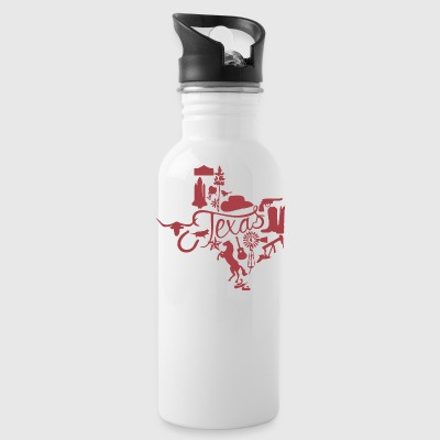 Texas - Water Bottle
