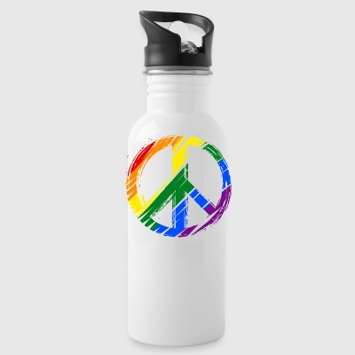 lgbt peace - Water Bottle