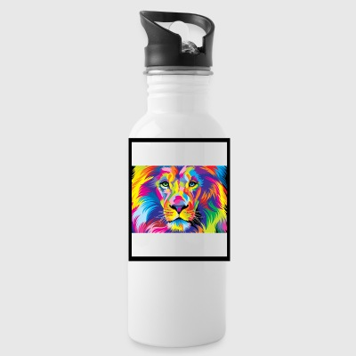Colorful Lion - Water Bottle