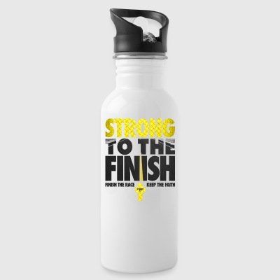Strong To The Finish - Water Bottle