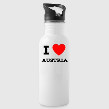 i love Austria - Water Bottle