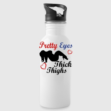 Pretty EyesThick Thighs - Water Bottle