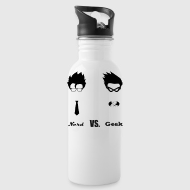 Nerd Vs Geek - Water Bottle
