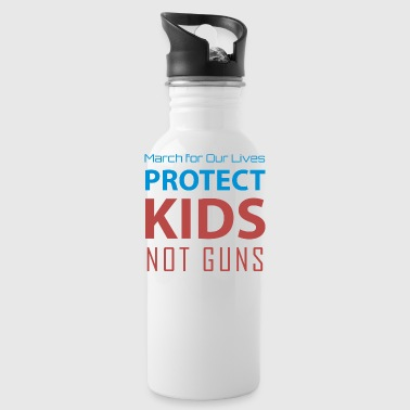 March for Our Lives protect kids not guns - Water Bottle