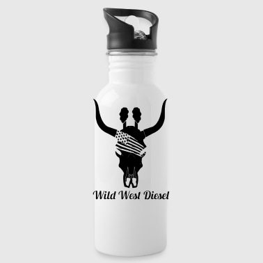 WWD Bull Skull - Water Bottle