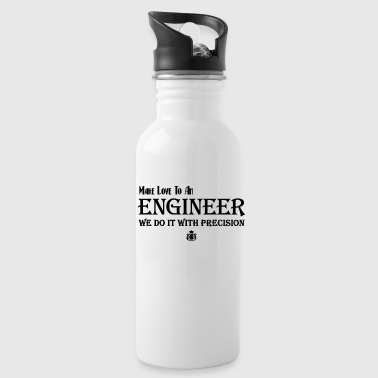 Make Love To An Engineer Classic White Mug - Water Bottle