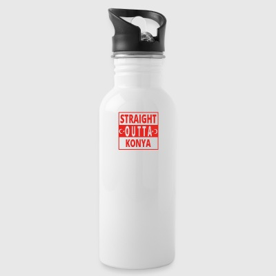 straight outta Konya TUeRKEI - Water Bottle