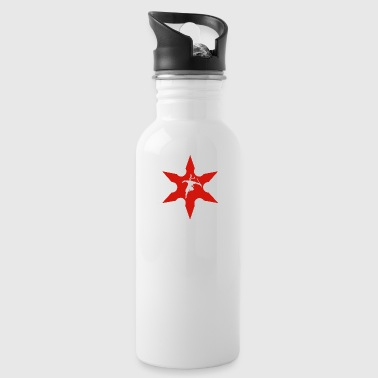 DSM17 064 ninja warrior - Water Bottle