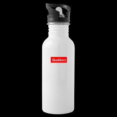 Quakkers White Supreme - Water Bottle