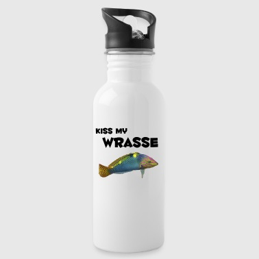 kiss my wrasse - Water Bottle