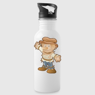 cute scarecrow - Water Bottle