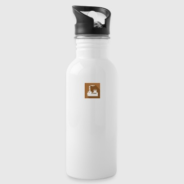 flat factory vector - Water Bottle